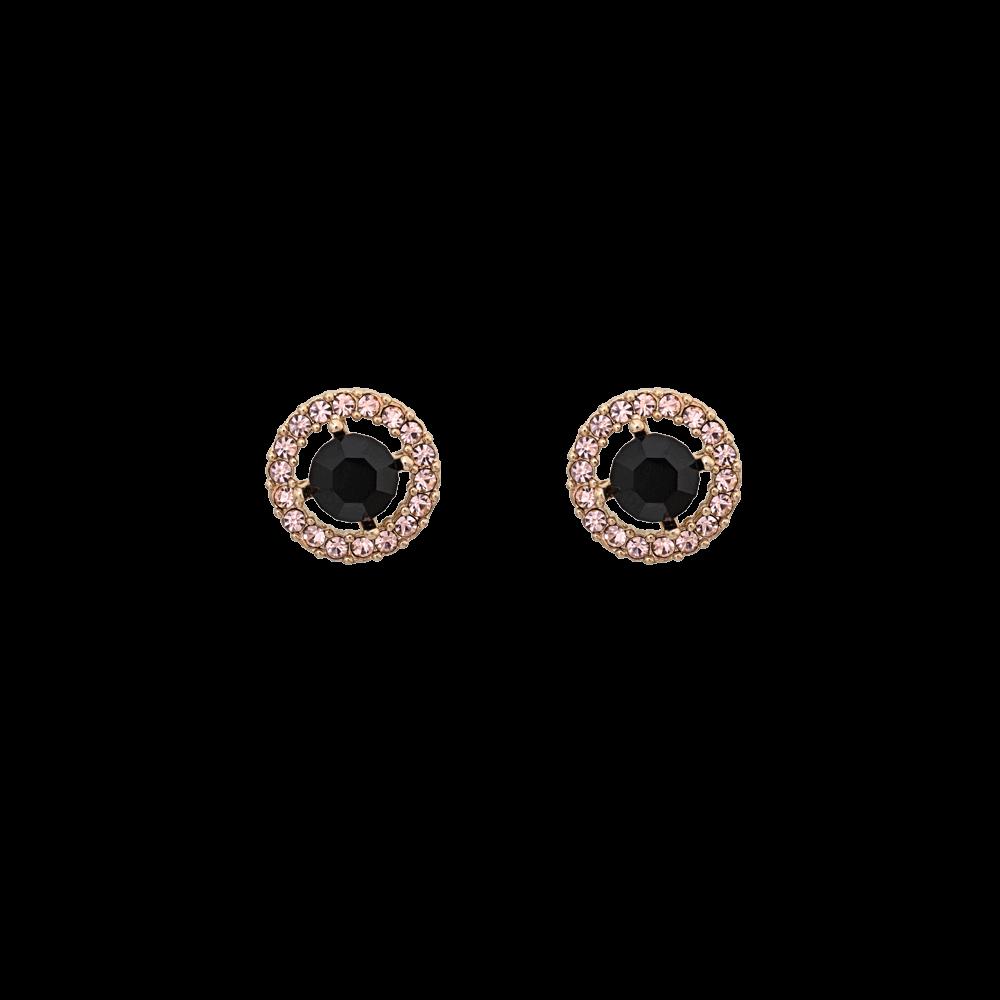 ed53605a34e15 Miss Miranda earrings - Jet (Gold)